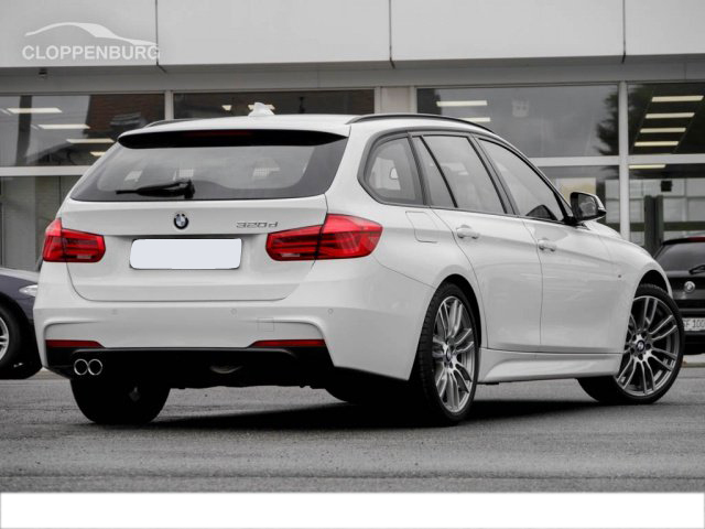 BMW 320d Touring AHK M Sport 19 Zoll LED