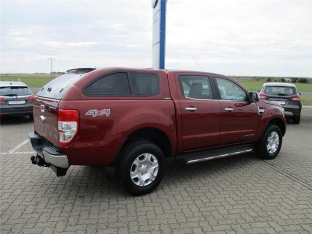 Ford Ranger Limited Doka/Standheizung/R.kamera/Leder/Hardtop