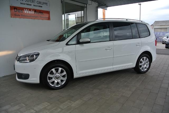 VW Touran 1.2 TSI BMT CUP KLIMA PDC GRA TEL