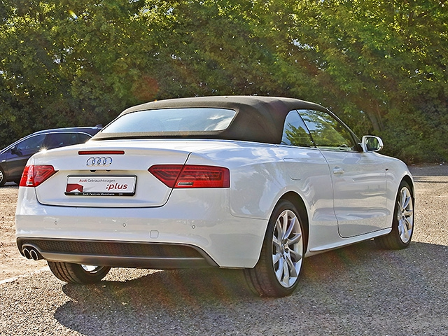 Audi A5 Cabriolet 2.0 TDI multitronic S line Ext. Xenon Navi Leder GRA LM PDC