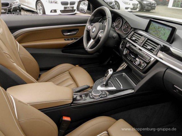BMW 425d Cabrio Aut AHK M Sportpaket Kurvenlicht NAVI