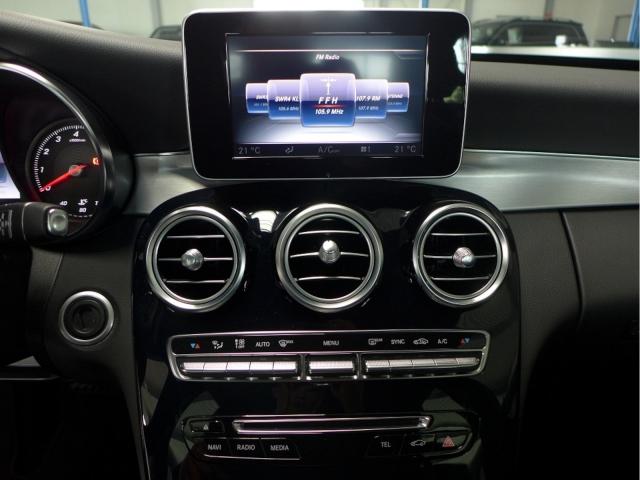 Mercedes-Benz C 180 9-G AMG Line NAVI-LED-LEDER-PTS-AMBIENTE